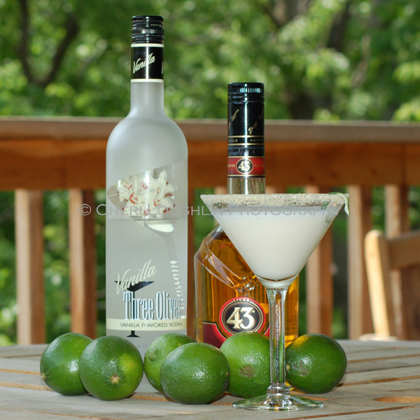 Key Lime Cocktail - copyright Cheri Loughlin - Cocktail Stock Photography www.cheriloughlin.com