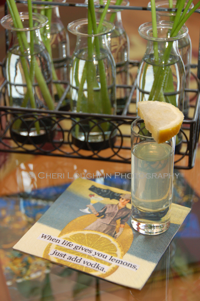 Citrus Drop - Lemon Drop Shot - photo by Cheri Loughlin