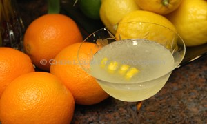 Lemon Sorbet Cocktail - photo copyright Cheri Loughlin