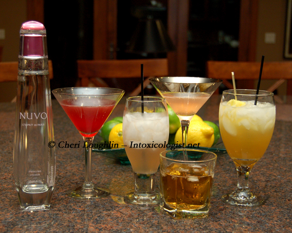 Sparkling NUVO Gone Flat Tasting - photo copyright Cheri Loughlin