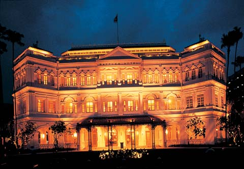Raffles Hotel Singapore via photo Tourist Board