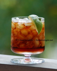 The Bacardi Cuba Libre - adapted Classic Cocktail - photo copyright Cheri Loughlin