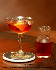 Art Negroni - adapted by Cheri Loughlin - photo property of Cheri Loughlin