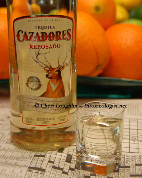 Cazadores Reposado Tequila Neat - photo copyright Cheri Loughlin