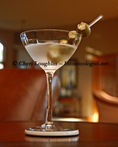 801 Special Blue Cheese Martini photo property of Cheri Loughlin