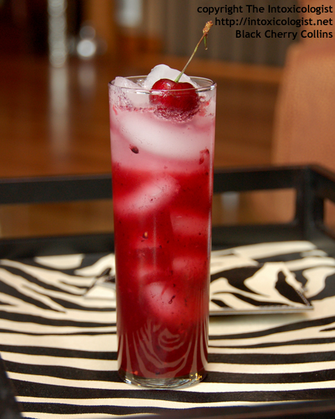 Black Cherry Collins - created by Cheri Loughlin - photo copyright