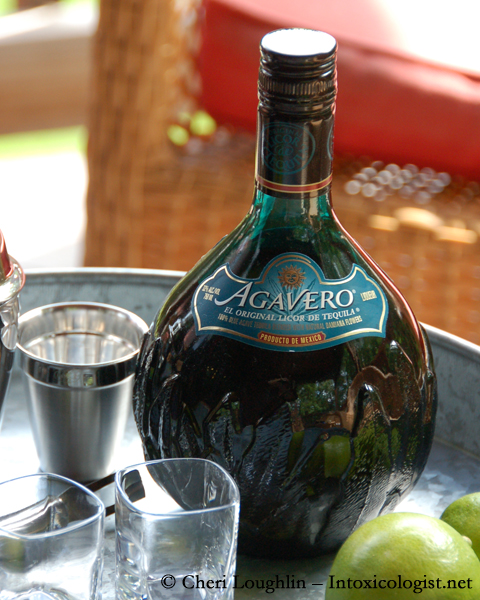 Agavero Tequila Liqueur - photo property Cheri Loughlin - The Intoxicologist