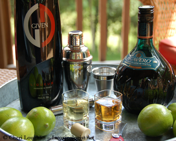 GIVEN Lime Infused Tequila Liqueur and Agavero Tequila Liqueur - photo property of Cheri Loughlin - The Intoxicologist