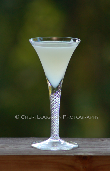 The White Spider cocktail tastes of extremely well made lemonade. The kicker; too much of a good thing and this White Spider will come back to bite you! Excellent for National Comic Book Day and as a classy Halloween cocktail. {photo credit: Mixologist Cheri Loughlin, The Intoxicologist. www.intoxicologist.net}