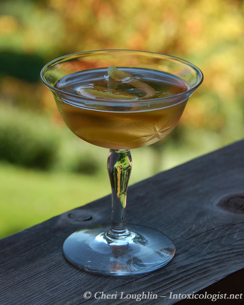 Alternating Kurrant Martini - photo property of Cheri Loughlin