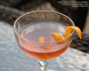 Brazen Martini - photo property of Cheri Loughlin