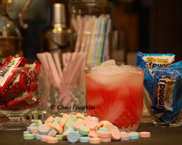 Candied Mocktails copyright Cheri Loughlin