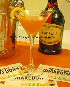 Chambeli Cocktail with Gran Gala Bottle photo copyright Cheri Loughlin