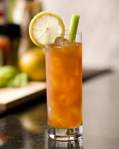 "The ""morning after..."" calls for a Morning After Bloody Mary! Make a Cry Me a River morning after Bloody Mary and call me in time for the next Happy Hour! Photo and recipe provided by representatives of OVAL Vodka for use on The Intoxicologist site"