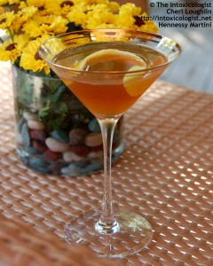 Hennessy Martini w Moscato - photo property of Cheri Loughlin
