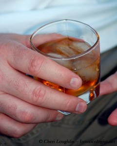 Jack Daniels - Pigskin Punch post for football and Tailgating - photo property of Cheri Loughlin - The Intoxicologist