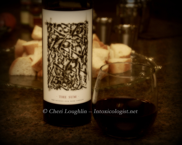 The Sum - Thought provoking Red Wine Blend for holidays, intimate gatherings - photo copyright Cheri Loughlin