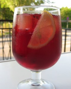 Tinto de Verano Spanish Inspired Cocktail