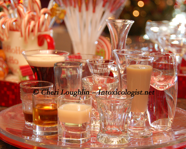 Shot Glasses Entertaining photo copyright Cheri Loughlin