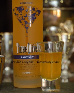 Three Olives Rangtang Tasted Neat photo copyright Cheri Loughlin