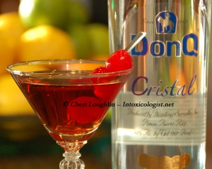 Boadas Classic Cocktail with DonQ Cristal Rum Tasting photo copyright Cheri Loughlin