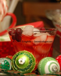 Cran-Blurry Cooler Non-Alcoholic Mocktail - created by Cheri Loughlin - photo copyright Cheri Loughlin