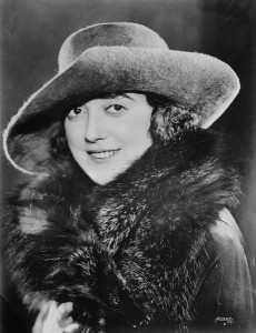 Mabel Normand low res Clip Art