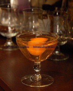 Temptation Rye Whiskey Cocktail - photo copyright Cheri Loughlin
