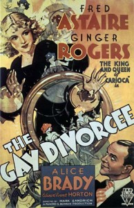Ginger Rogers in The Gay Divorcee - creative commons use