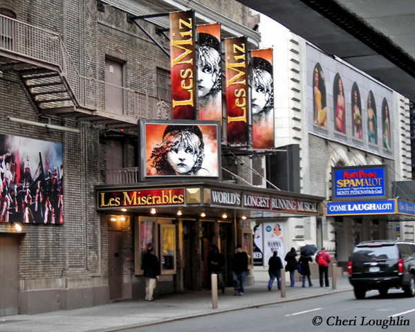 Les Miserables NYC - photo copyright Cheri Loughlin