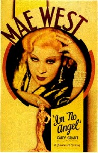 Mae West in Im No Angel - creative commons use