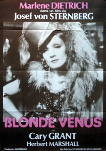 Marlene Dietrich - Blonde Venus - creative commons 600
