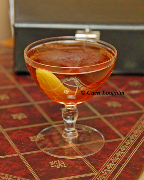 Napoleon Martini - Gin - Fernet Branca - photo copyright Cheri Loughlin