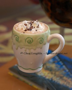 Peppermint Mocha Patty - created by Cheri Loughlin - photo copyright Cheri Loughlin