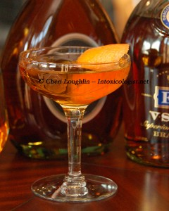 Toulon Brandy Cocktail - photo copyright Cheri Loughlin