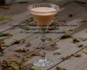 Winter Slumber cocktail commissioned for Hiram Walker - created by Cheri Loughlin - photo copyright Cheri Loughlin