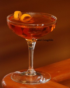 Ampersand - classic cocktail - photo copyright Cheri Loughlin