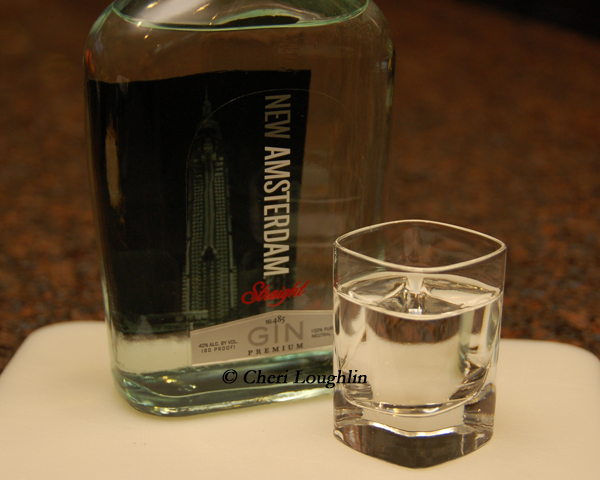 New Amsterdam Gin Tasted Neat - photo copyright Cheri Loughlin