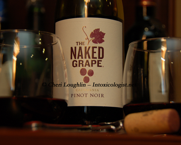The Naked Grape Label - photo copyright Cheri Loughlin
