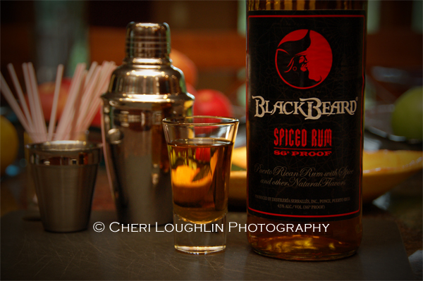 Black Beard Spiced Rum Taster Vignette photo copyright Cheri Loughlin
