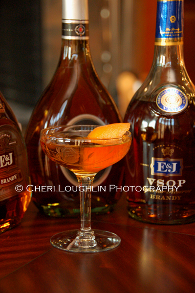 E&J Brandy - Toulon Cocktail 3 photo copyright Cheri Loughlin