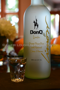 DonQ Limon Rum Tasting - photo copyright Cheri Loughlin
