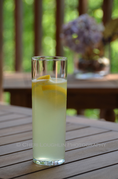 Sorrento Sling is just one of many refreshing cocktails for 4th of July. Sorrento Sling is easily made with Limoncello, Gin, Lemon Juice and Club Soda. - photo by Cheri Loughlin, The Intoxicologist