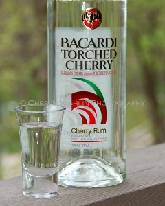 Bacardi Torched Cherry Neat photo copyright Cheri Loughlin