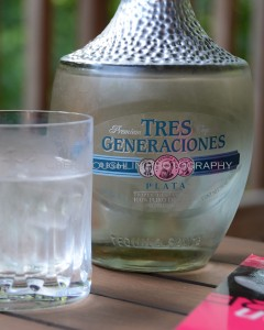 Tres Generaciones Blanco Tequila w On the Rocks - photo copyright Cheri Loughlin