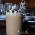 Peanut Butter Backflip Smoothie - Peanut Butter, Banana, vanila yogurt, chocolate milk, chocolate syrup