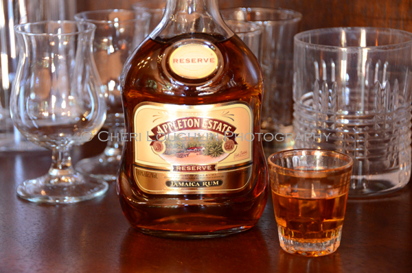 Appleton Estate Reserve Rum Sample photo copyright Cheri Loughlin