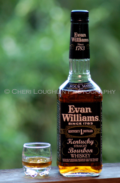 Sampling Evan Willams Bourbon - photo by Cheri Loughlin, The Intoxicologist