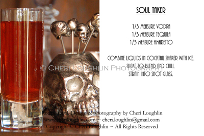 Soul Taker Halloween Deady Potions Recipe Cards photo copyright Cheri Loughlin