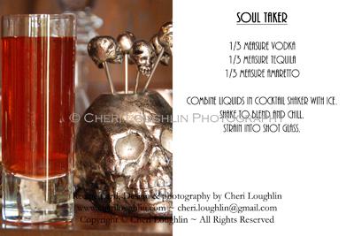 Soul Taker Halloween Deady Potions Recipe Cards photo copyright Cheri Loughlin